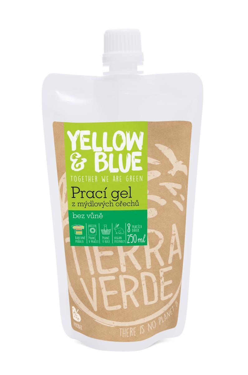 Prací gél bez vône (sáčok uzáver 250 ml)