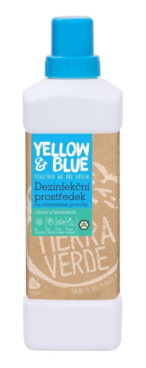Použití produktu Dezinfekční prostředek na omyvatelné povrchy citron a levandule (lahev 1 l)