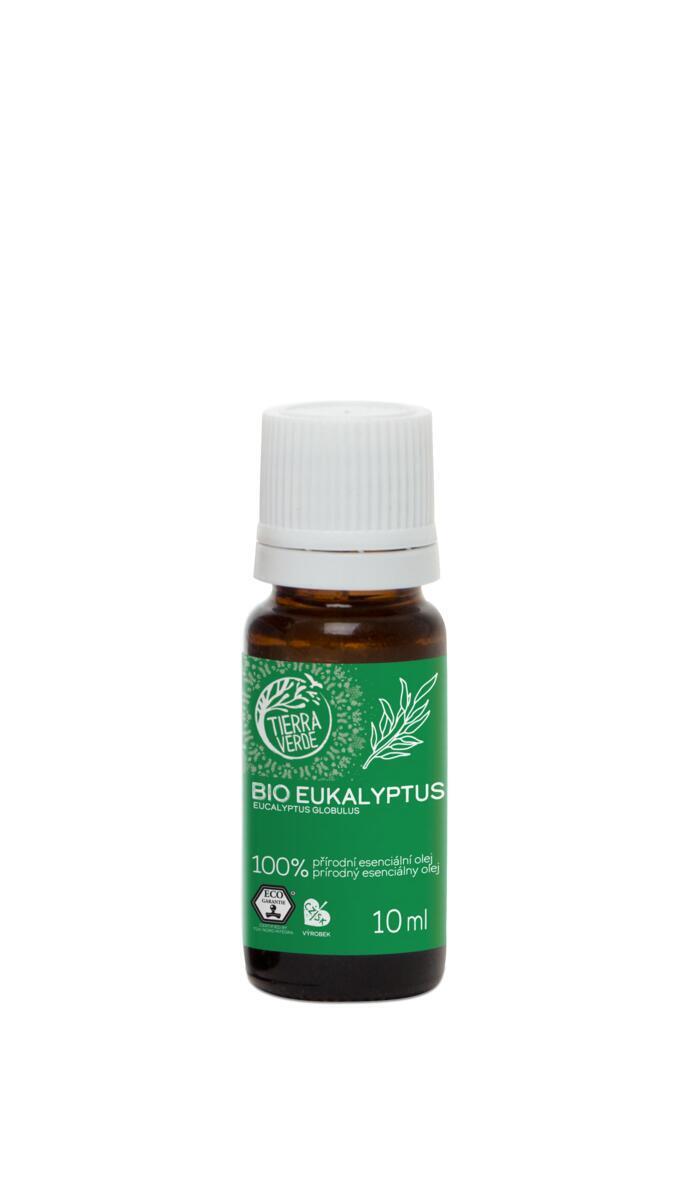 Použití produktu Esenciálny olej BIO Eukalyptus (10 ml)