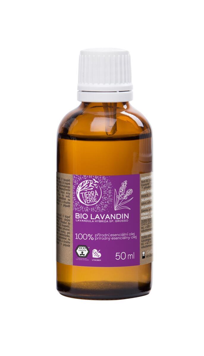 Použití produktu Esenciální olej BIO Lavandin (50 ml)