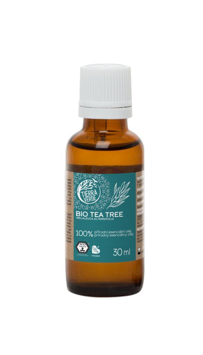 Použití produktu Esenciální olej BIO Tea Tree (30 ml)