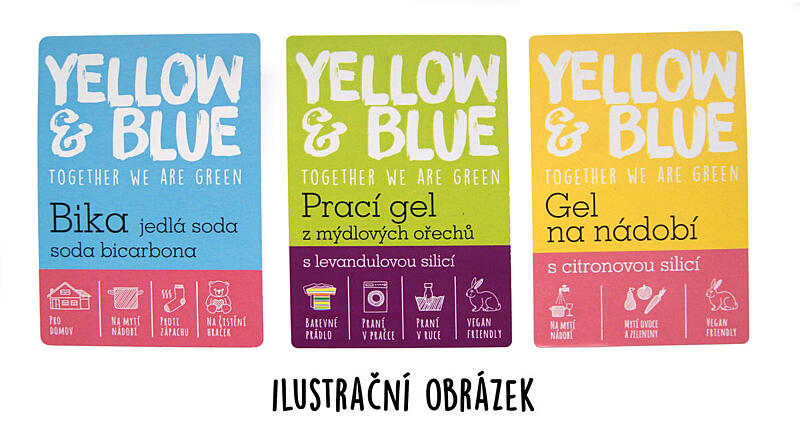 Použití produktu Etiketa na Tekuté mýdlo – levandule (pro označení na prodejně)
