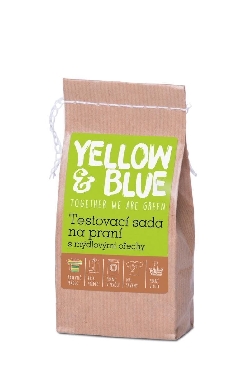 Použití produktu Sada testovací na praní s mýdlovými ořechy (vzorek)