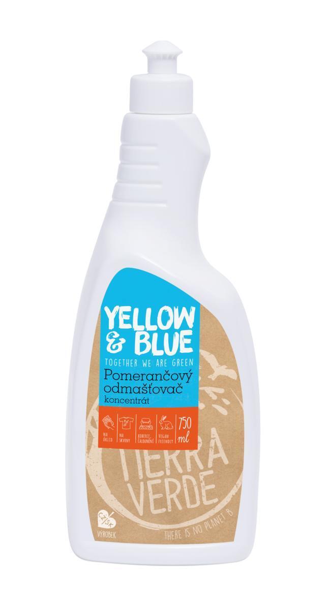 Použití produktu Pomerančový odmašťovač – koncentrát (lahev 750 ml)